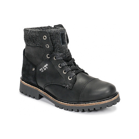 Bullboxer AHA518E6L-BLCK boys's Children's Mid Boots in Black