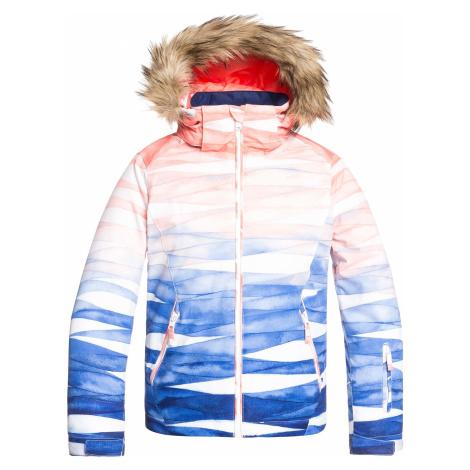 jacket Roxy Jet Ski SE - BNG1/Mid Denim Yumi Yamada Print - girl´s
