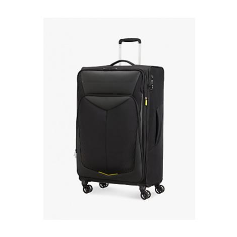 American Tourister Summer Funk Carbon 4-Wheel 79cm Large Suitcase, Black
