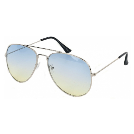 Silver Aviators Sunglasses silver coloured