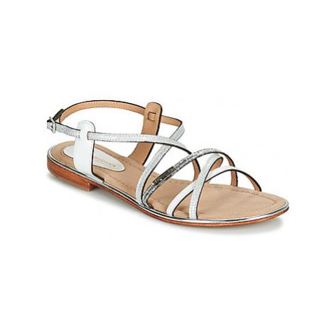 Les Tropéziennes par M Belarbi HARICOT women's Sandals in White