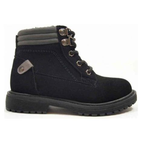 Black men's winter shoes
