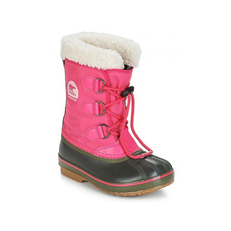 Sorel YOOT PAC™ NYLON girls's Children's Snow boots in Pink