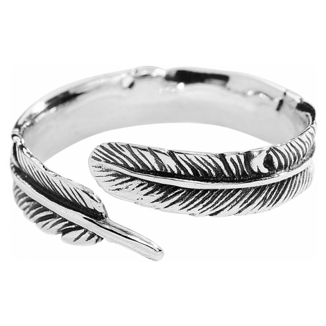 Silver Feather - - Ring - Standard