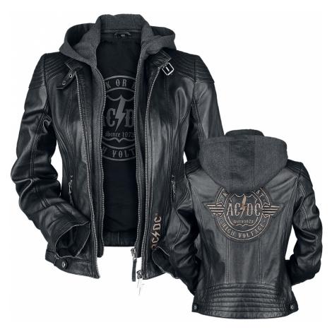 AC/DC - EMP Signature Collection - Girls leather jacket - black
