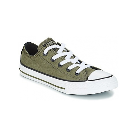 Converse CHUCK TAYLOR ALL STAR OX girls's Children's Shoes (Trainers) in Green