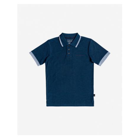 Quiksilver Kentin Kids Polo Shirt Blue