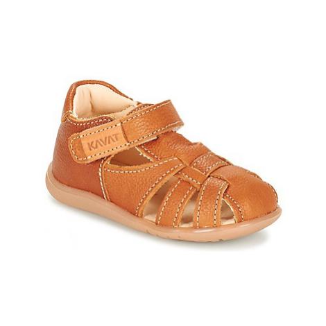 Kavat RULLSAND girls's Children's Sandals in Brown