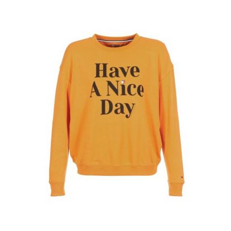 Tommy Jeans TJW HAVE A NICE DAY SWEATSHIRT women's Sweatshirt in Yellow Tommy Hilfiger