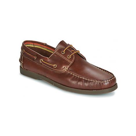 So Size JIKILI men's Boat Shoes in Brown