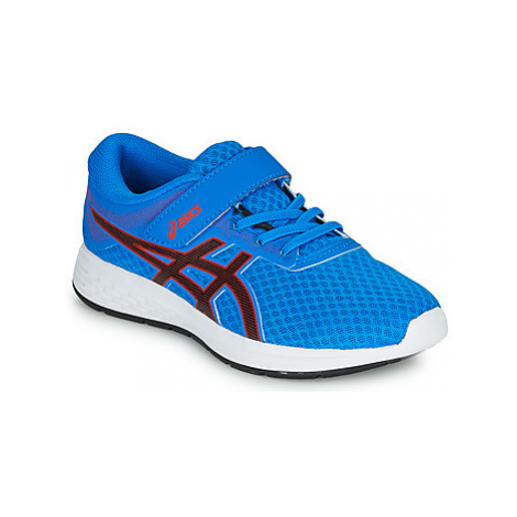 Asics PATRIOT 11 PS girls's Children's Sports Trainers in Blue