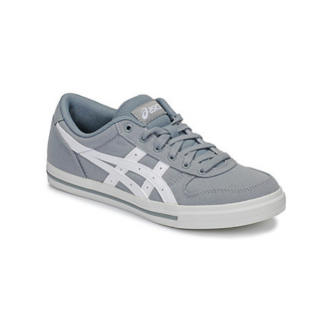 Asics AARON CANVAS women's Shoes (Trainers) in Grey