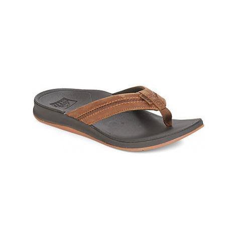 Brown men's flip-flops