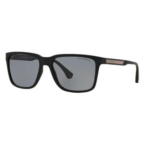 Emporio Armani Man EA4047 - Frame color: Black, Lens color: Grey-Black, Size 56-17/140