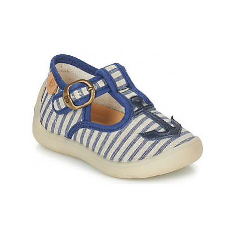 Babybotte MOUSSON boys's Children's Slippers in Blue