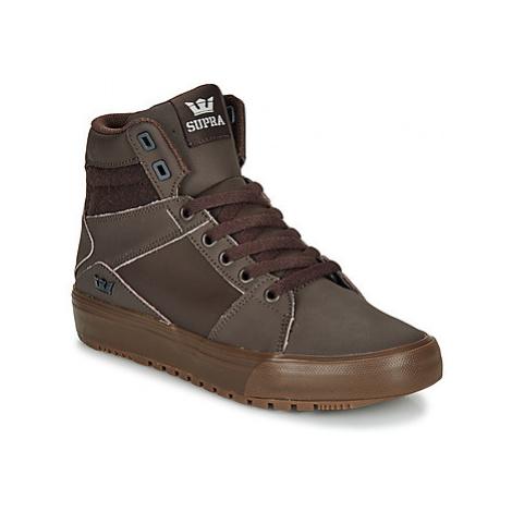 Supra ALUMINIUM CW women's Shoes (High-top Trainers) in Brown