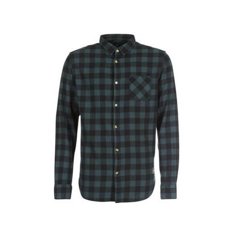 Rip Curl CHECK IT LS SHIRT men's Long sleeved Shirt in Grey