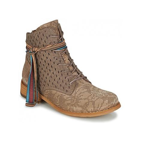 Felmini YOLLE women's Mid Boots in Brown