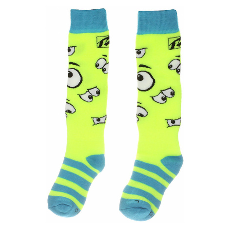 socks Relax Happy - RSO35/Neon Yellow - kid´s