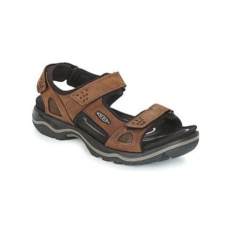 Keen RIALTO 3 POINT men's Sandals in Brown