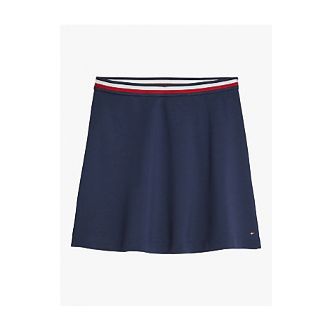 Tommy Hilfiger Girls' Essential Knit Skater Skirt, Navy