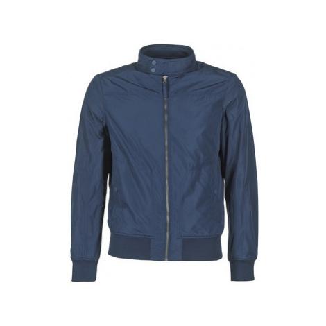 Blue men's bomber jackets