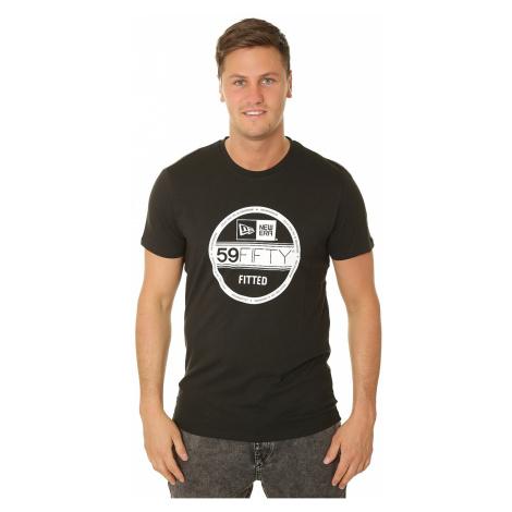 T-Shirt New Era Essential Visor Sticker - Black - men´s