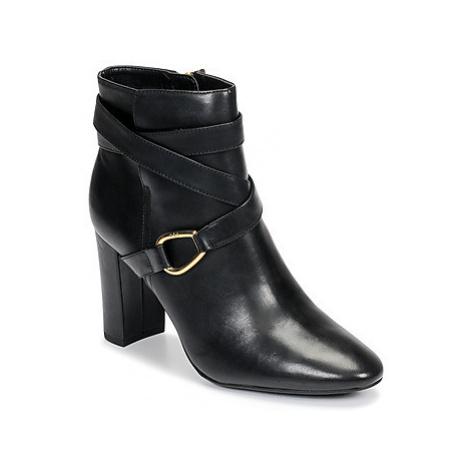 Lauren Ralph Lauren ADDINGTON-BOOTS-DRESS women's Low Ankle Boots in Black