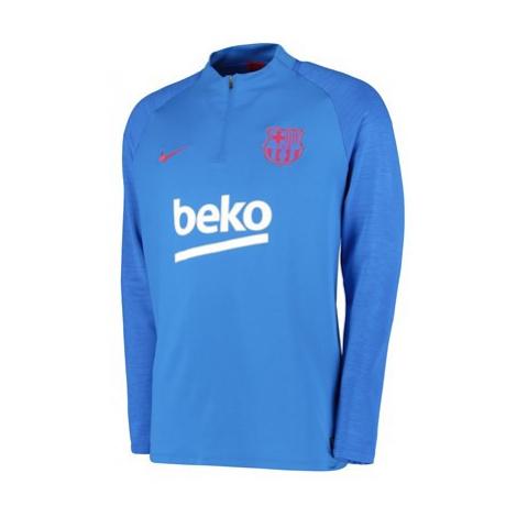 Barcelona Strike Training Drill Top - Blue Nike