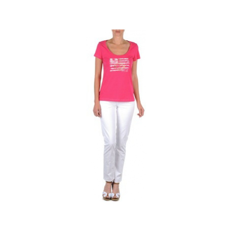 Tommy Hilfiger LENNY women's Trousers in Pink