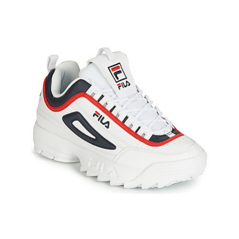 Fila DISRUPTOR CB LOW men's Shoes (Trainers) in White