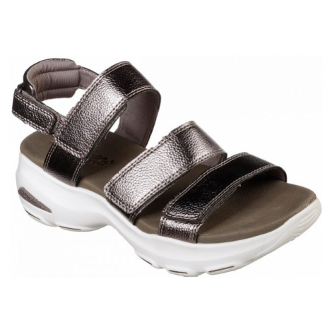 Skechers D'LITES ULTRA brown - Women's sandals