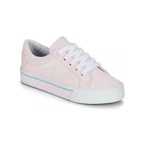 Polo Ralph Lauren ANNSEBURY girls's Children's Shoes (Trainers) in Pink