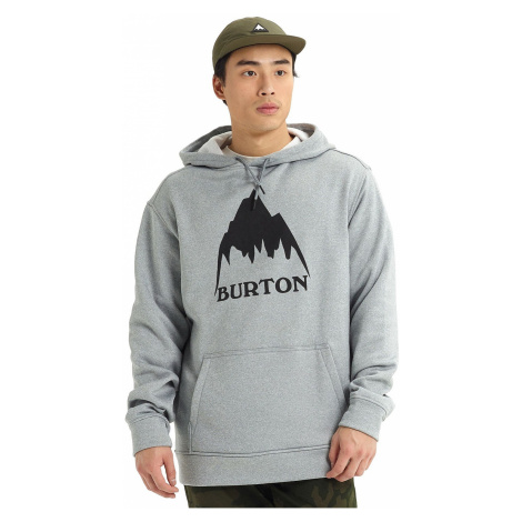sweatshirt Burton Oak Pullover - Mountain Gray Heather - men´s