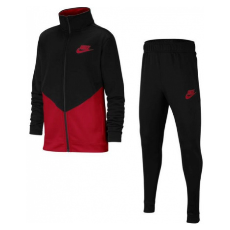 Nike B NSW CORE TRK STE PLY FUTURA red - Kids' tracksuit