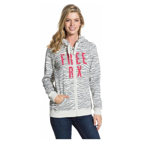 hoodie Roxy Jump Jump Zip Print B - SLR6/Zebra
