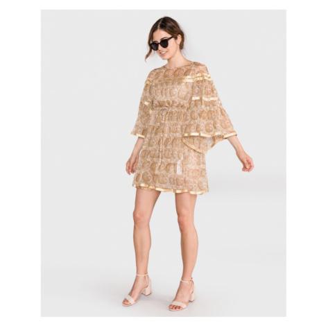 TWINSET Dress Gold Beige