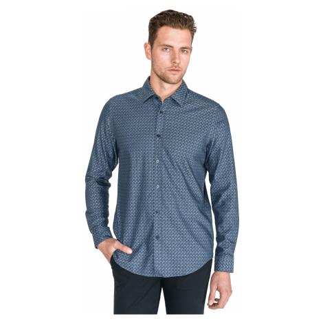 BOSS Lukas Shirt Blue Hugo Boss