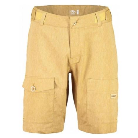 Maloja NATAN M. PANTS yellow - Multisports shorts