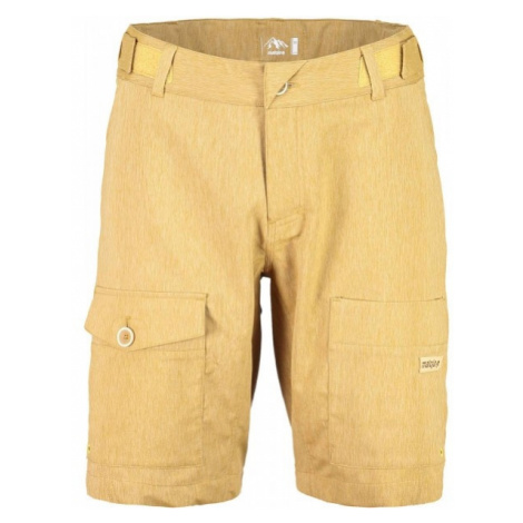 Maloja NATAN M. PANTS yellow - Multisports shorts