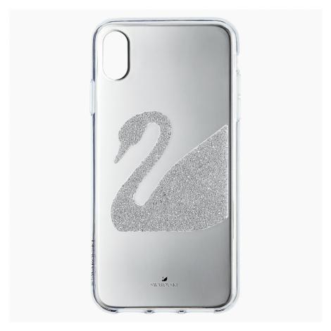 Swan Smartphone Case, iPhone® XS Max, Grey Swarovski
