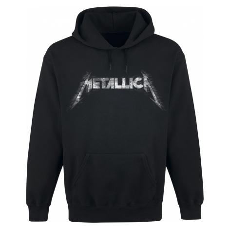 Metallica - Spiked Logo - Hooded sweatshirt - black