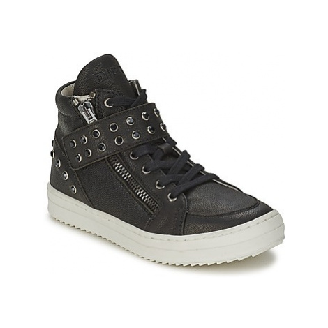 Diesel TREVOR girls's Children's Shoes (High-top Trainers) in Black