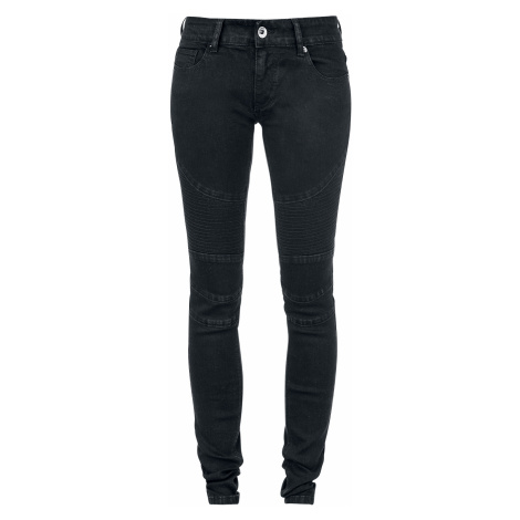 Forplay - Biker Pants - Girls jeans - black