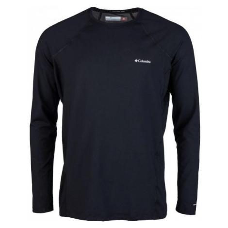 Columbia MIDWEIGHT LS TOP M black - Men's functional T-shirt
