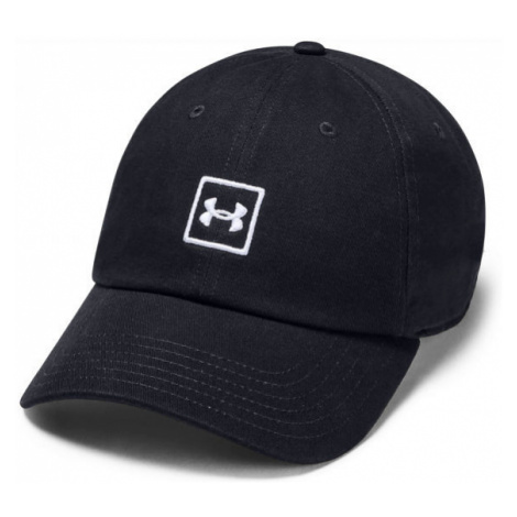 Under Armour WASHED COTTON CAP black - Baseball cap