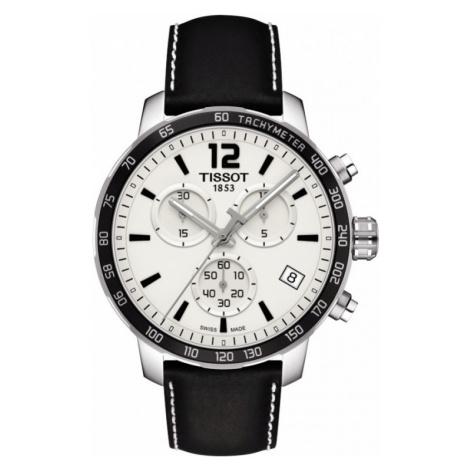 Mens Tissot Quickster Chronograph Watch T0954171603700