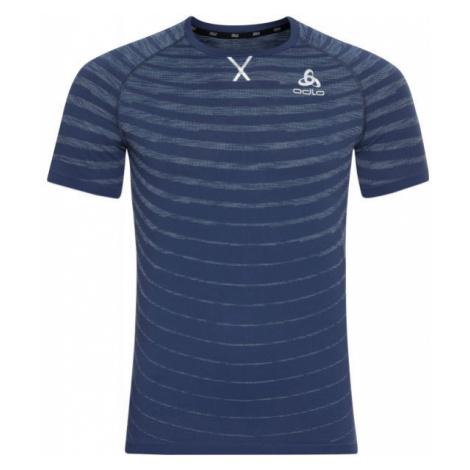 Odlo T-SHIRT S/S CREW NECK BLACKCOMB PRO blue - Men's T-Shirt
