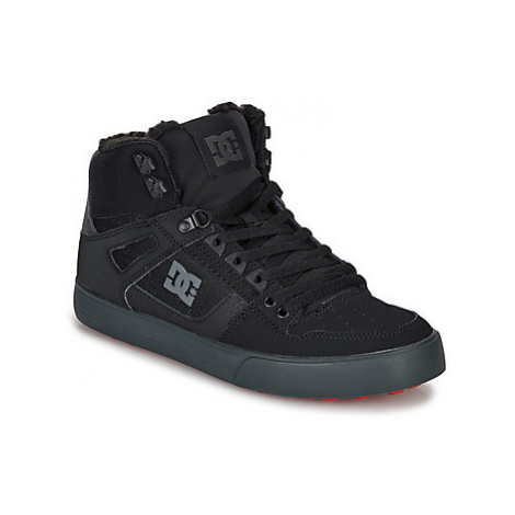 DC Shoes PURE HIGH-TOP WC WNT men's Shoes (High-top Trainers) in Black
