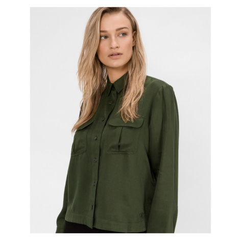 Calvin Klein Utility Shirt Green